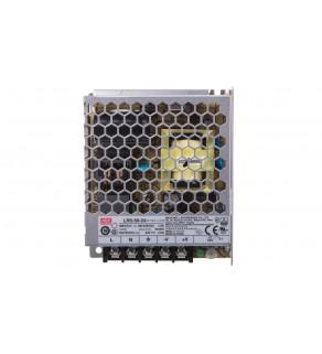 Zasilacz do montażu wewnętrznego 24V 2,2A 53W LRS-50-24