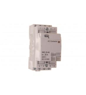 Stycznik modułowy 20A 4Z 0R 230V AC KMC-20-40 23241