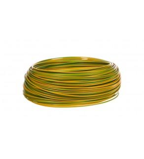 Przewód instalacyjny H05V-K 0,5 żółto-zielony 29082 /100m