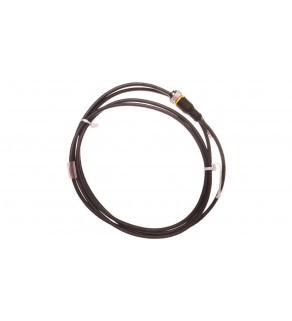 Przewód ze złączem żeńskim M12 3-piny proste z kablem 2m RKC4T-2/TXL 6625500