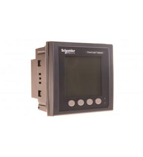 Miernik parametrów sieci (U, I, P, Q, f, PF, E) 5/1A przekładnik 100-415V AC Modbus MID tablicowy 96x96mm METSEPM5111