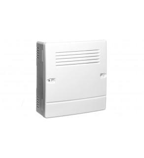 Płyta główna centrali alarmowej modułem komunikacyjnym i sygnalizatorem VERSA Plus