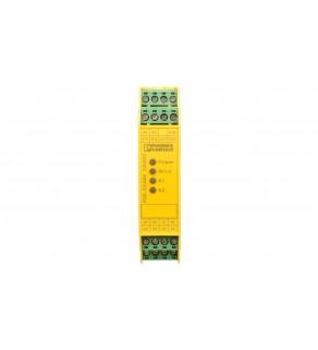 Przekaźnik bezpieczeństwa 3Z 1R 230V AC/DC zatrzymania awaryjnego i drzwi SIL3 PSR-SCP-230UC/ESAM4/3X1/1X2/ 2901428