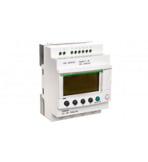 Sterownik programowalny 6 wej 4 wyj 100-240V AC RTC/LCD Zelio SR3B101FU