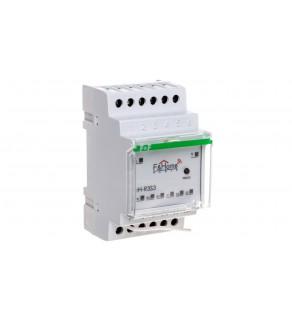 F&ampHome Radio Przekaźnik trzykanałowy z nadajnikiem trzykanałowym na szynę DIN LongRange rH-R3S3-LR
