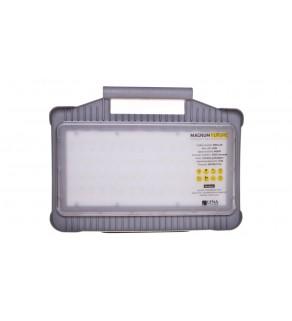 Oprawa warsztatowa LED 32W 230V MAGNUM FUTURE z gniazdami PL-FR /funkcja przedłużacza 2x16A/ 247002