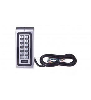 Zamek szyfrowy hermetyczny z czytnikiem kart i breloków zbliżeniowych 12-24V IP68 DC OR-ZS-804