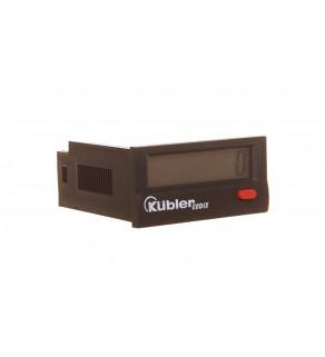 Licznik impulsowy elektroniczny CODIX 130 zasilanie bateryjne, wielotrybowy 6.130.012.850.00