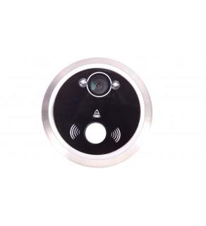 Elektroniczny wizjer do drzwi 3,5cala z dzwonkiem, podświetleniem nocnym, zoomem i funkcją nagrywania, bateryjny OR-WIZ-1102
