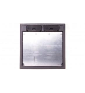 Kaseta podłogowa zasilająca 8-modułowa 264x242mm GES9/55U V 7011 7405037