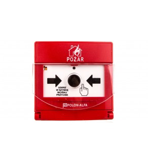 Ręczny ostrzegacz pożarowy ROP-4001M