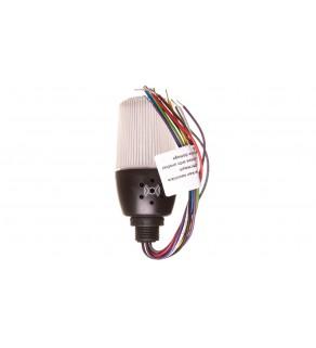 Wielofunkcyjna kolumna sygnalizacyjna LED z buzzerem 55mm 24V AC/DC IP65 T0-T0-IF5M024ZM05