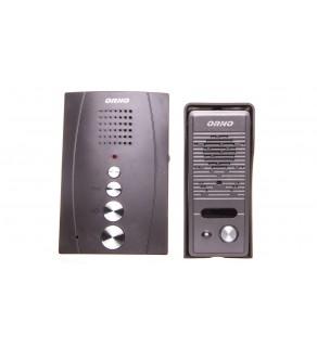 Zestaw domofonowy jednorodzinny bezsłuchawkowy ELUVIO czarny OR-DOM-RE-914/B