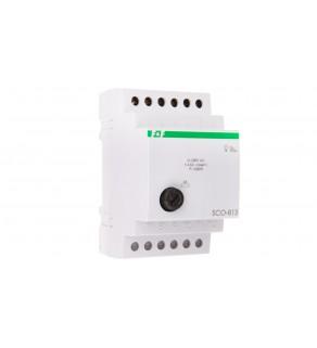 Ściemniacz przycisk szary 1000W 4,5A 230V AC SCO-813