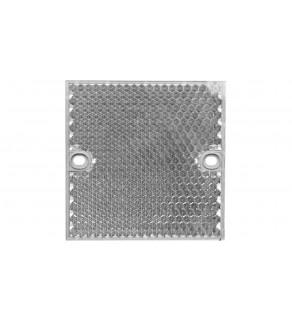 Odbłyśnik kwadratowy 80x80mm PMMA/ABS PL80A 1003865