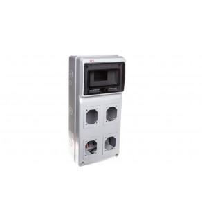 Rozdzielnica niewyposażona 506x230x150mm 4-otwory 8-modułów M-BOX IP65 1518083