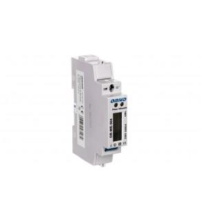 Wskaźnik zużycia energii elektrycznej 1-fazowy 80A 230V port RS-485 z wyświetlaczem LCD OR-WE-504