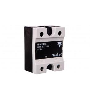Przekaźnik półprzewodnikowy jednofazowy 25A 230V AC 4,5-32V DC RS1A23D25