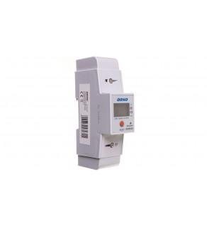 Wskaźnik energii elektrycznej 1-fazowy 80A 230V dodatkowy wskaźnik wyjście impulsowe z wyświetlaczem LCD OR-WE-503