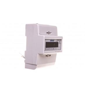 Wskaźnik zużycia energii elektrycznej 1-fazowy 80A 230V z wyświetlaczem LCD OR-WE-502