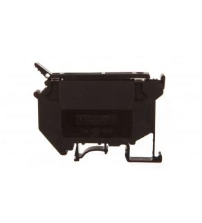 Złączka szynowa na bezpiecznik 5x20/25/30 5 2-przewodowa 0,2-4mm2 czarna UK 5-HESILED 24 3004126