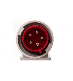 Wtyczka tablicowa kątowa 32A 5P 400V czerwona IP67 TWIST 777252-6