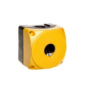 Obudowa kasety 1-otworowa 22mm żółta IP67 LPZP1A5