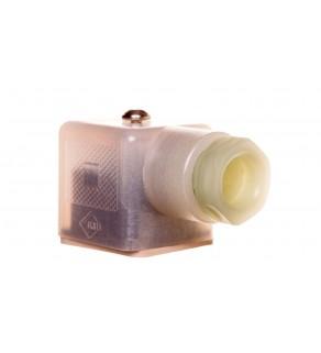 Wtyk zaworowy 3P typ A z zasilaczem LED SACC-V-3 CON-PG9/A -1L-SV 24 1527919