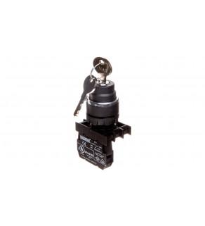 Przycisk sterowniczy 1Z 0R z kluczem bez samopowrotu 0-1 T0-B100A20
