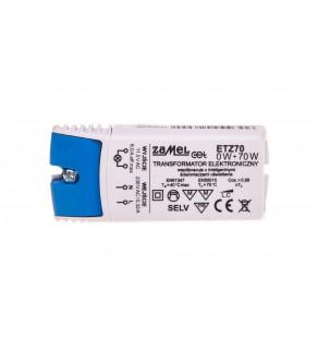 Transformator elektroniczny 230/11,5V 0-70W ETZ70 LDX10000043