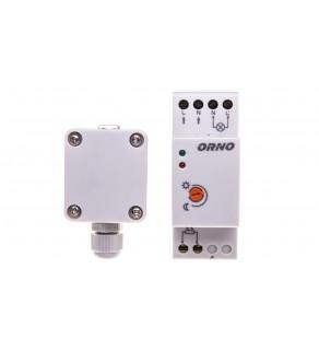 Czujnik zmierzchowy na szynę DIN z zewnętrzną sondą w puszce 3000W 2-100lx IP65 / IP20 OR-CR-231