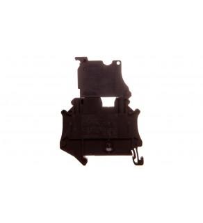 Złączka szynowa z bezpiecznikiem 5x20 2-przewodowa 0,14-6mm2 czarna UT 4-HESILED 24 (5x20) 3046090
