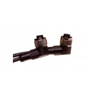 Przewód przyłączeniowy 2m z gniazdem kątowym 4P FIELDBUS M12 S/A AB-C4- 2,0PUR-M12FA 22260324