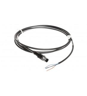Przewód przyłączeniowy 2m z wtyczką prostą 4P FIELDBUS M12 S/A AB-C4-M12MS- 2,0PUR 22260320
