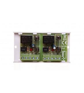 Moduł przekaźnikowy z 2 przekaźnikami 10-16V AC/DC PK2 AWZ512