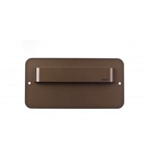 Oprawa LED 0,4W SALSA MAX SHORT M (mosiądz mat) / WW (ciepły biały) Aluminium + lakier IP56 MS-SMX-M-H-1-PL-00-01
