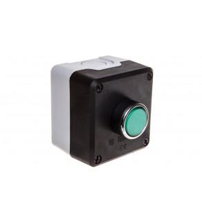 Kaseta sterownicza 1-otworowa zielony 1Z szara IP65 T0-P1C300DY