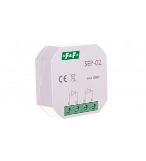 Separator sygnału wejściowego 1A 1000V podtynkowy SEP-02