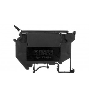 Listwa zaciskowa bezpiecznikowa 0,2-4mm2 5x20/5x25/5x30mm czarna UK5 HESI 3004100