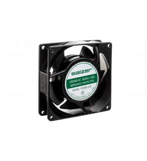 Wentylator łożysko kulkowe 230VAC 0.07A 12W 45.63 m3/h 92x92x25mm przyłącze konektorowe PD9225B-AC230C