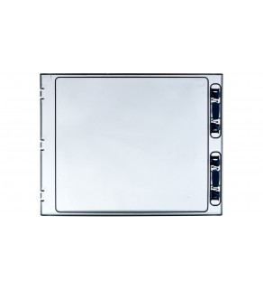 Drzwi do szafki IKA 2x18 transparentne DOOR-2/36-T-IKA 174225