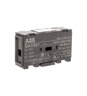 Styk pomocniczy 0Z 1R do rozłączników OT160-4000 OA3G01 1SCA022456R7410
