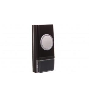 Gong do dzwonków z serii OPERA IP44 czarny OR-DB-YK-117PD