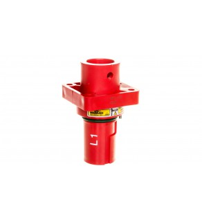 Obudowa wtyczki pulpitowa EPIC POWERLOCK A1 C L1 czerwona SP M12 44420316