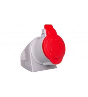 Gniazdo stałe MINI z dławikiem 4P 32A 400V czerwone GSM 32/4 IP-44 921866