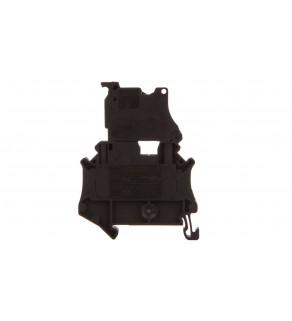 Złączka szynowa z bezpiecznikiem 5x20 6,3A 2-przewodowa 4mm2 czarna UT 4-HESI (5X20) 3046032