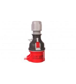 Gniazdo przenośne proste 4P 16A 400V czerwone TWIST GPP 16/4 IP-44 921871