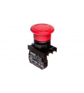 Przycisk dłoniowy bezpieczeństwa, 1NC, grzybek 40 mm, czerwony T0-B200E