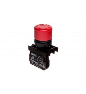 Przycisk dłoniowy bezpieczeństwa, 1NC, grzybek 30 mm, czerwony T0-B200E30
