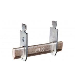 Zwieracz nożowy nieizolowany NH00 160 A styki srebrzone LNH00TMM